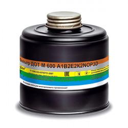 Фильтр противогазовый ДОТ М 600 A1В2Е2К2NOP3D