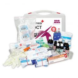 Аптечка коллективная «ФЭСТ» (15 — 20 человек) - пластиковый футляр