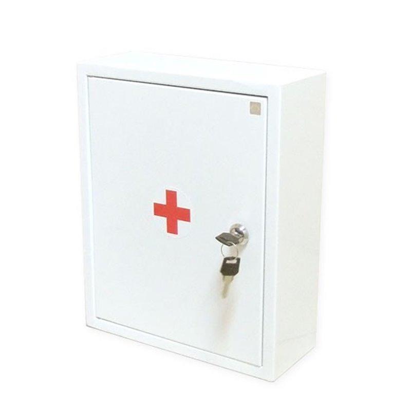 Для оказания первой помощи работникам - металлический шкаф 1