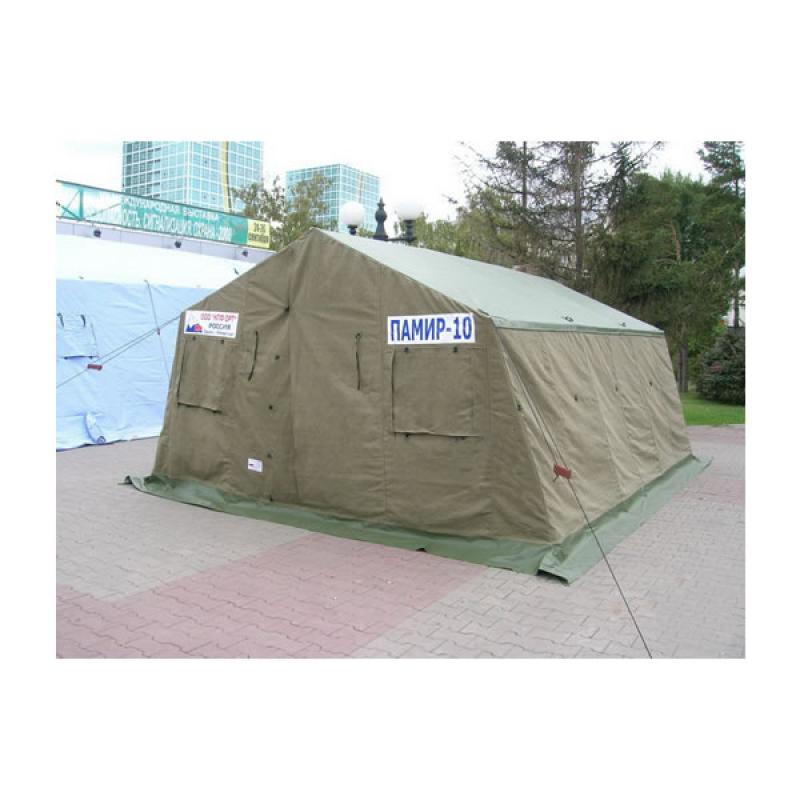Памир 10. Палатка для полевых условий летняя (внешний тент - ткань ПВХ)